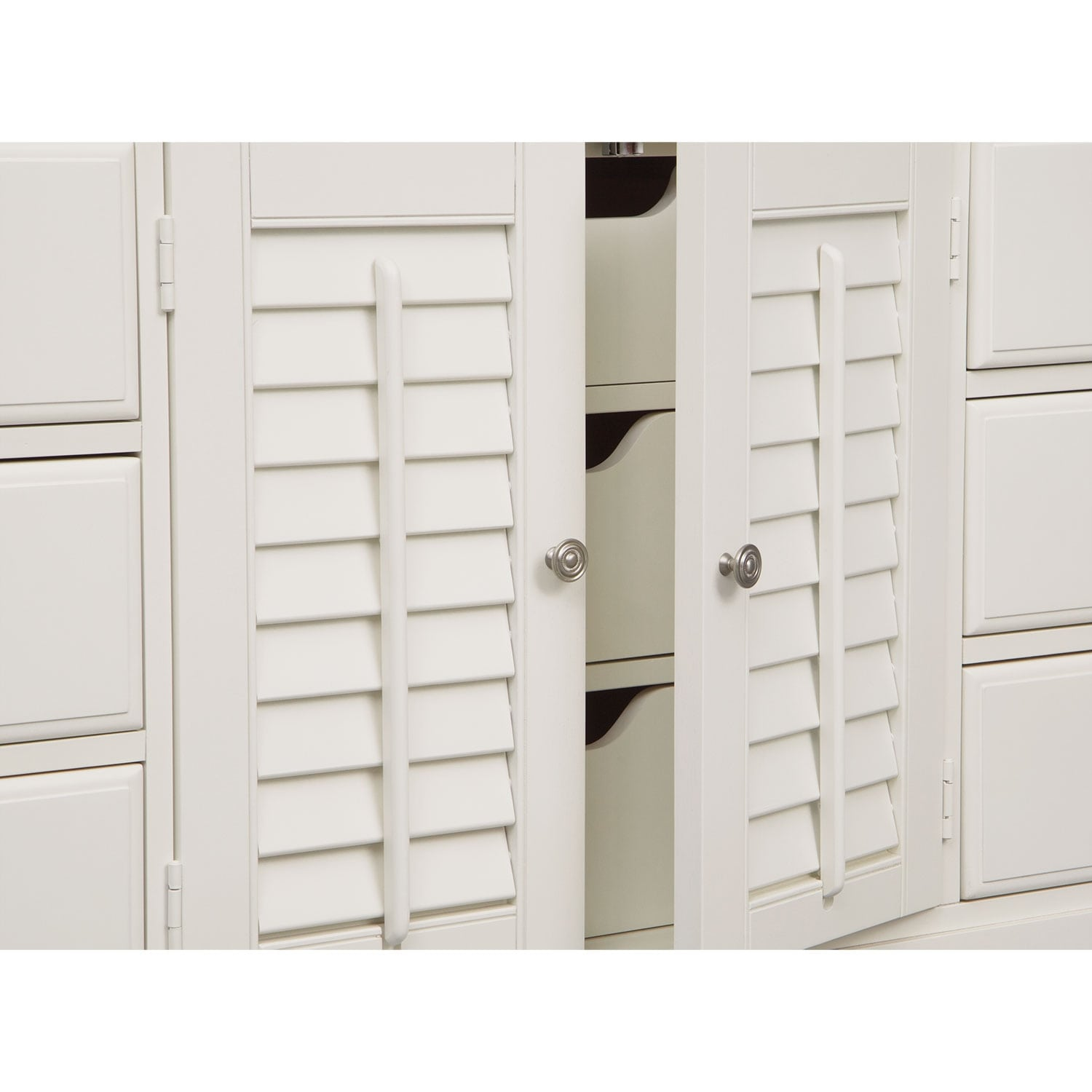 Plantation cove 6 piece full bedroom set with door - Plantation cove bedroom furniture ...