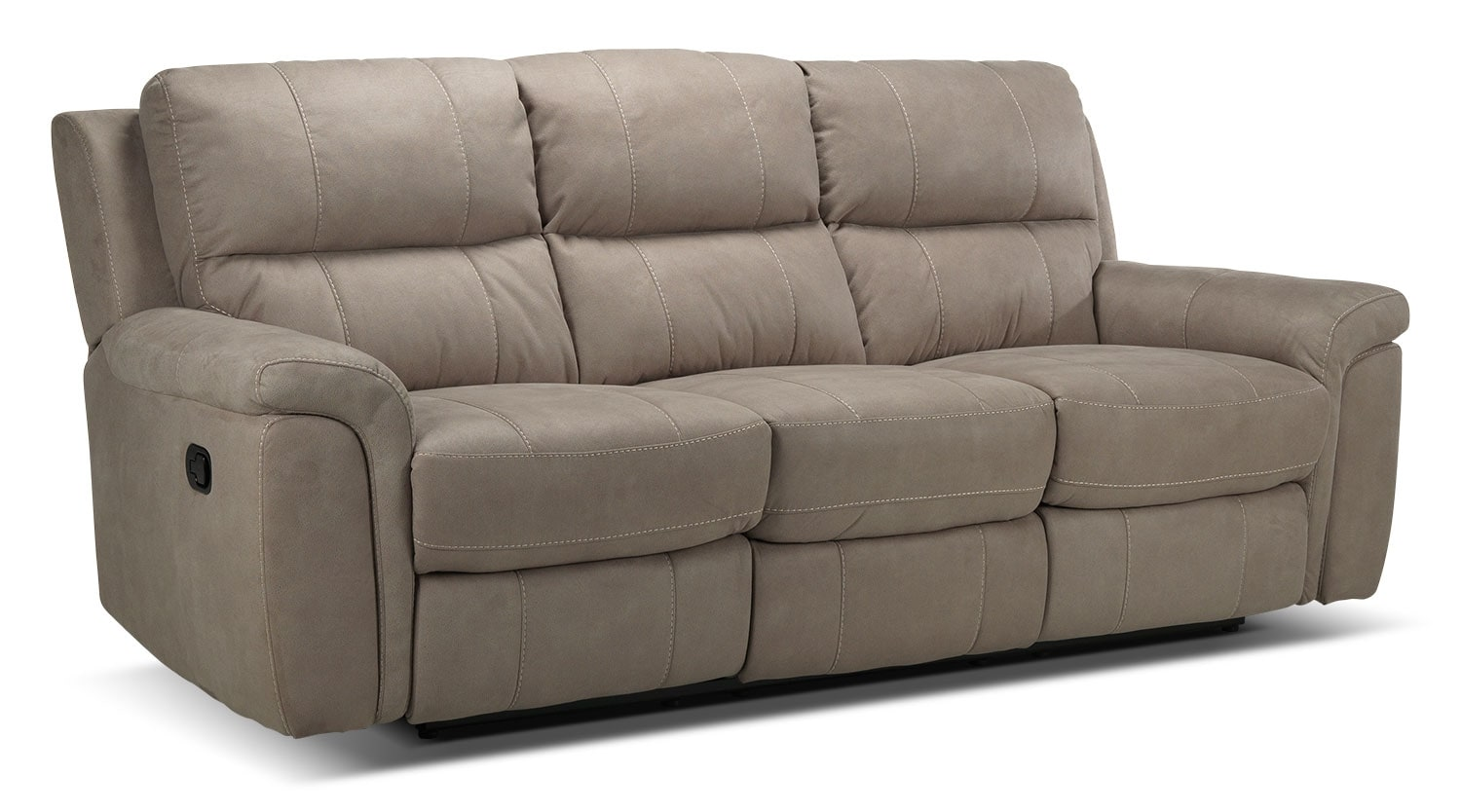 Roarke Reclining Sofa - Silver Grey