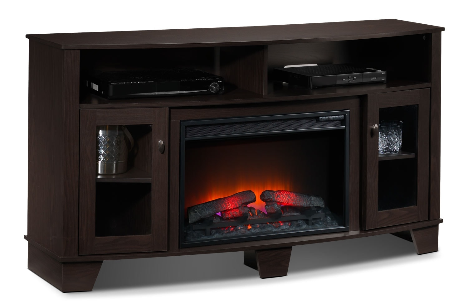Entertainment Furniture - Lasalle Fireplace TV Stand