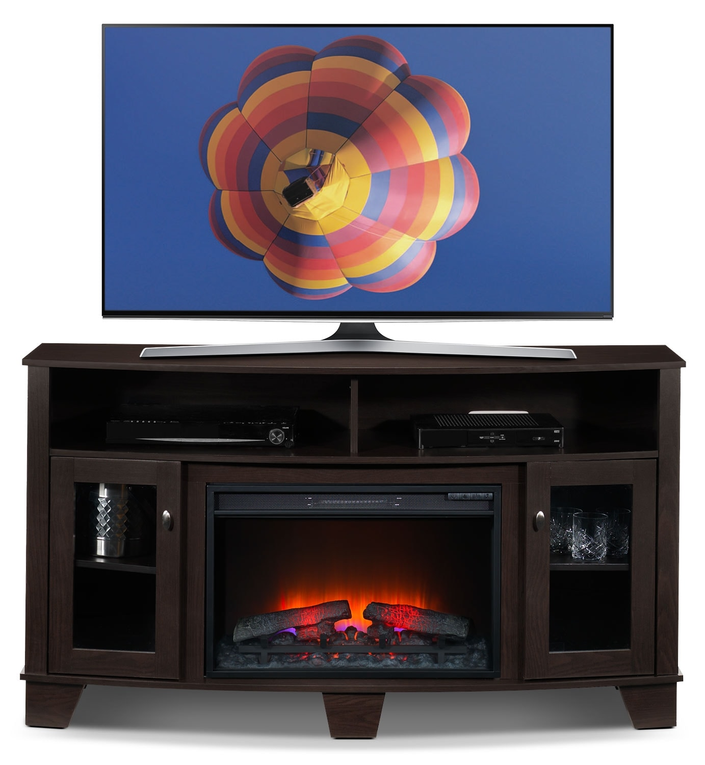 Lasalle Fireplace TV Stand