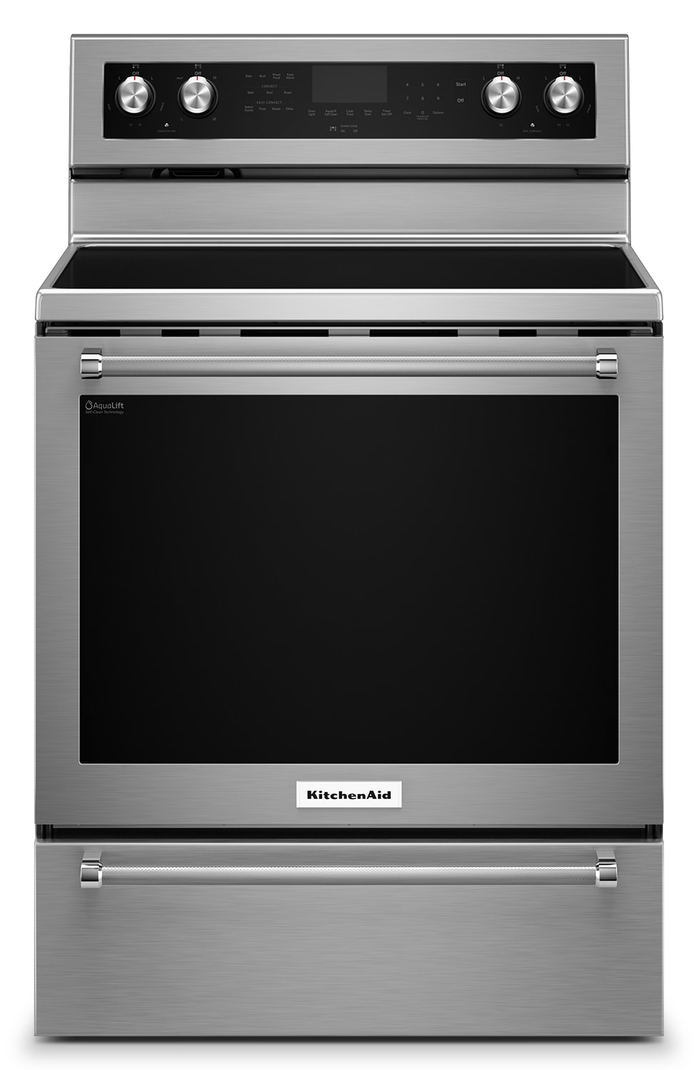 Cooking Products - KitchenAid 6.4 Cu. Ft. Freestanding Electric Range – YKFEG510ESS