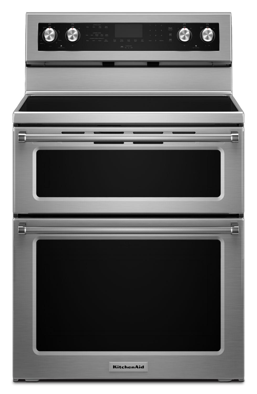 "KitchenAid 30"" Electric Double Oven Convection Range"