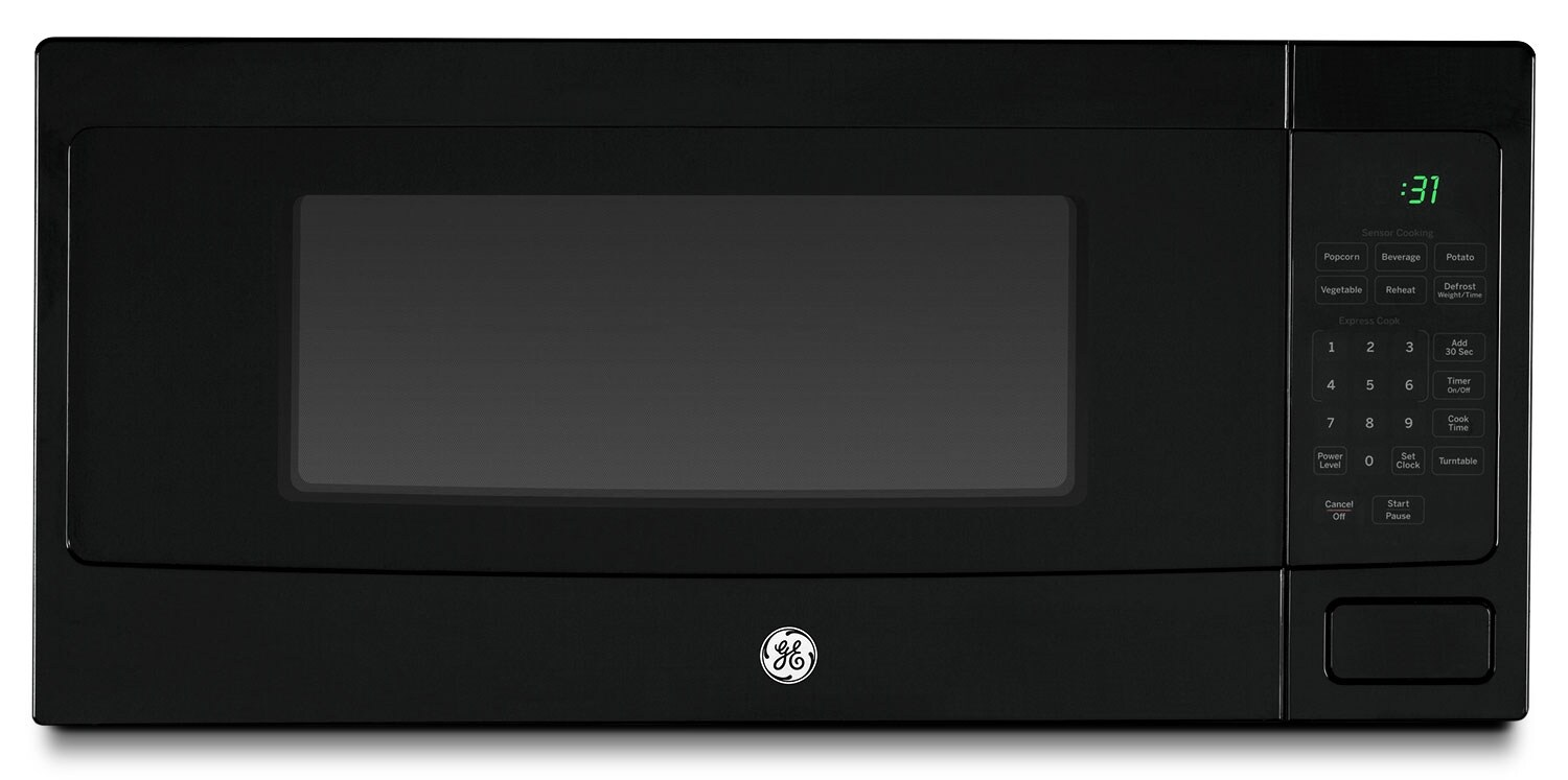 Cooking Products - GE 1.1 Cu. Ft. Spacemaker Countertop Microwave – Black
