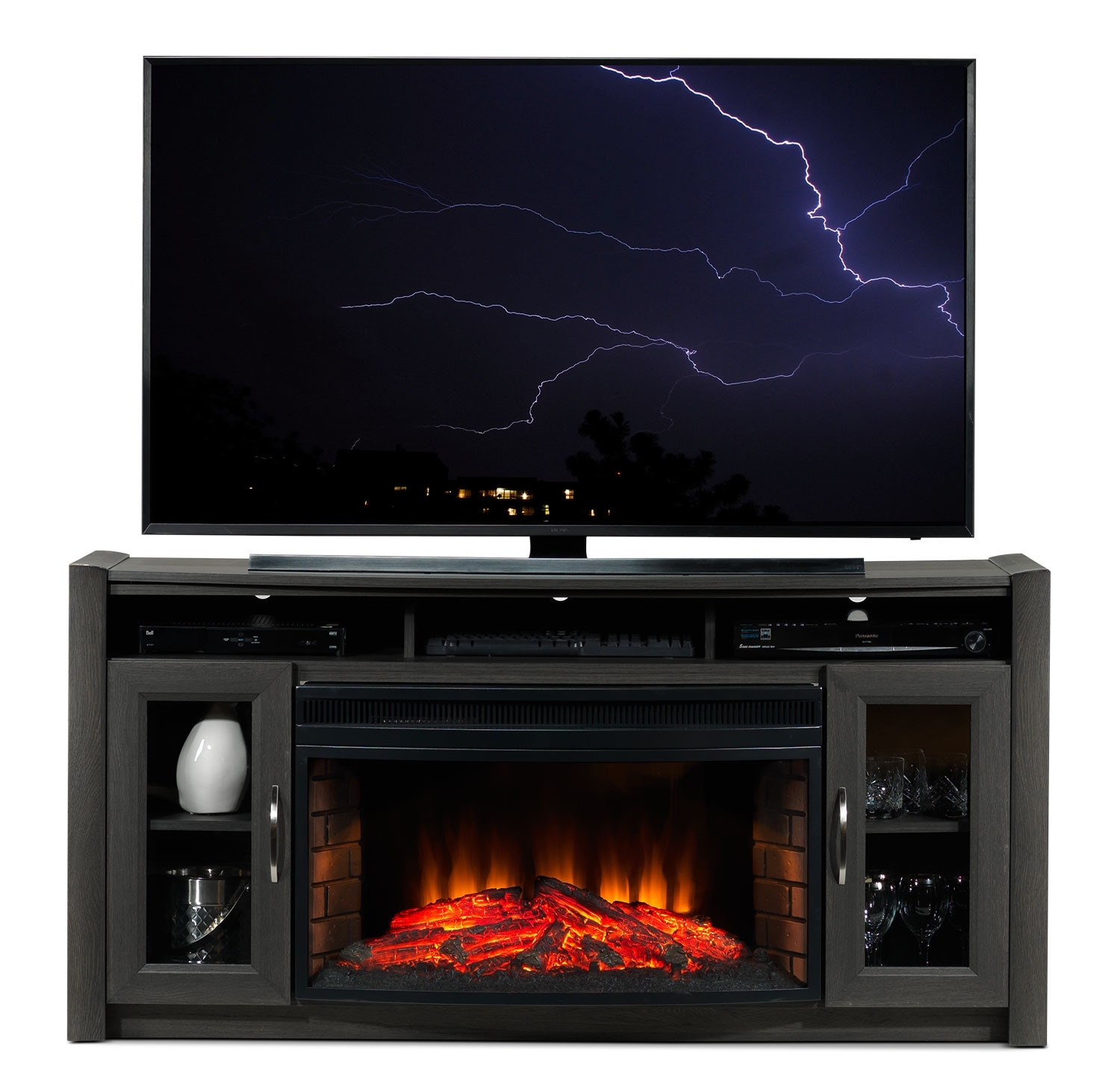Gallagher Fireplace TV Stand