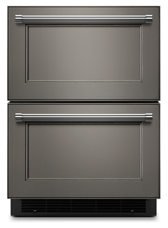 Kitchenaid 24 Quot Double Refrigerator Drawer Panel Ready