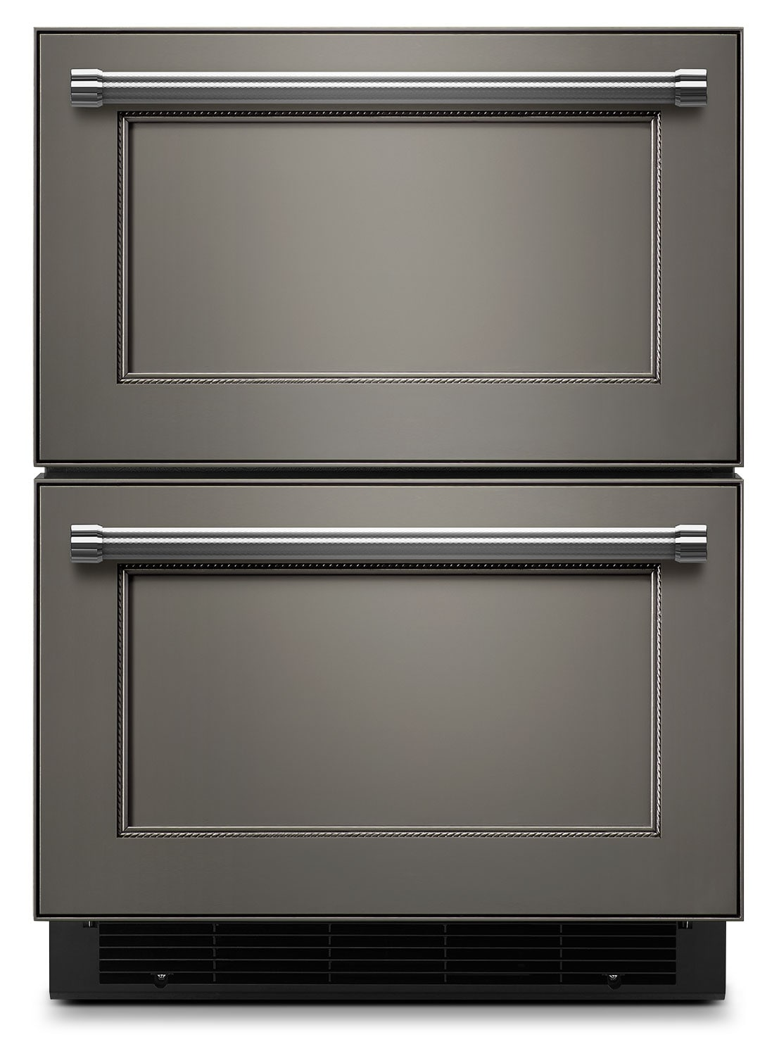 "Refrigerators and Freezers - KitchenAid 24"" Double Refrigerator Drawer – Panel-Ready"