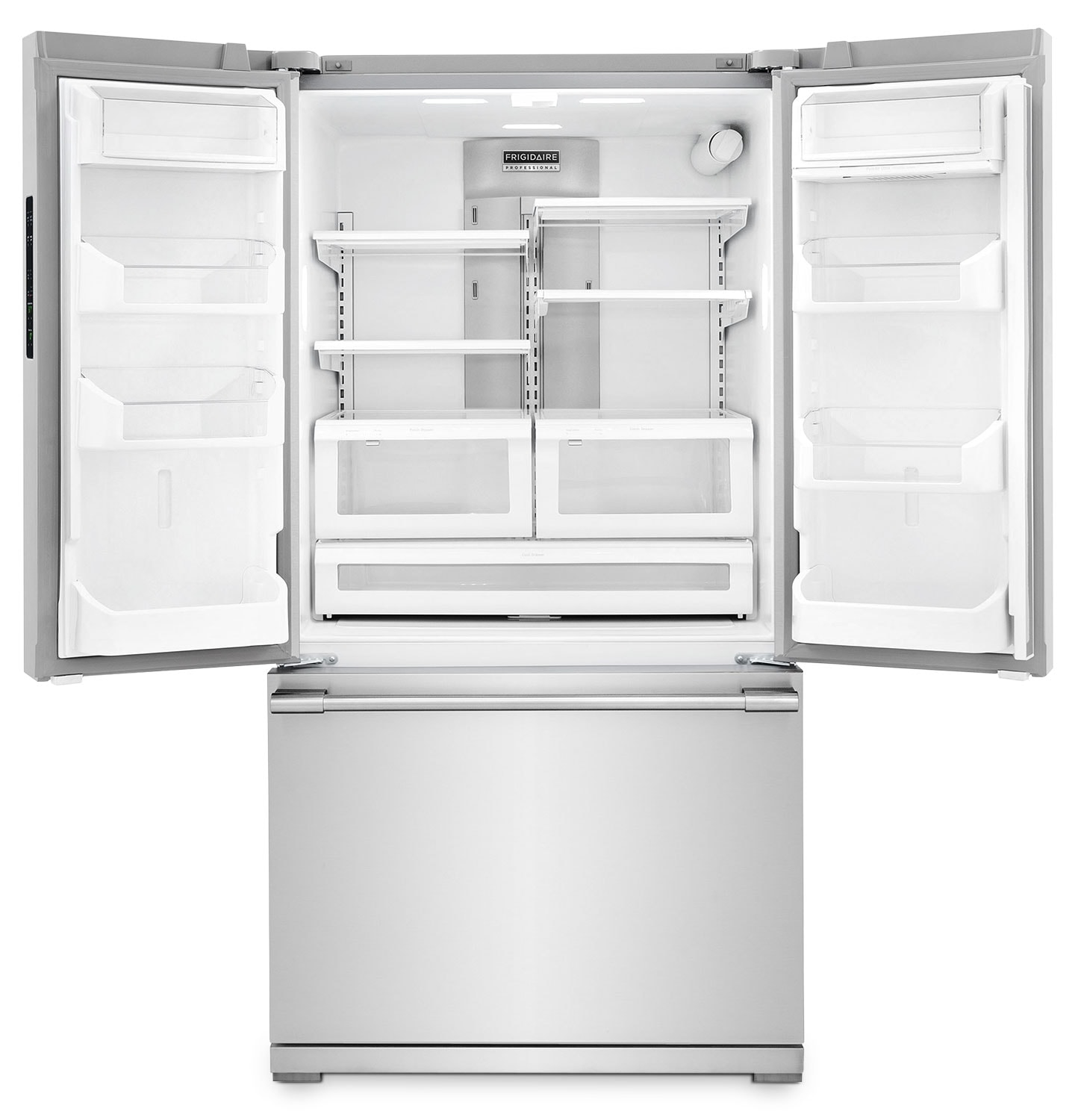 1500 #515357 Frigidaire Professional Counter Depth French Door Refrigerator (22.6  picture/photo Counter Depth Refrigerator White French Doors 31991448