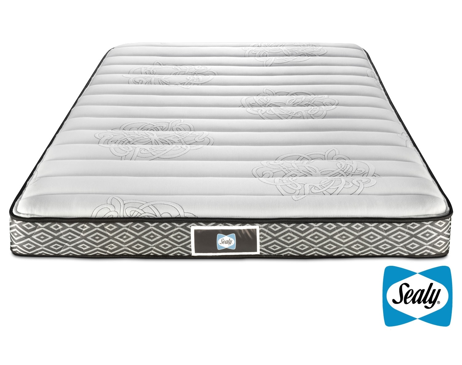 Sealy glacier queen mattress leon 39 s Queen bed and mattress