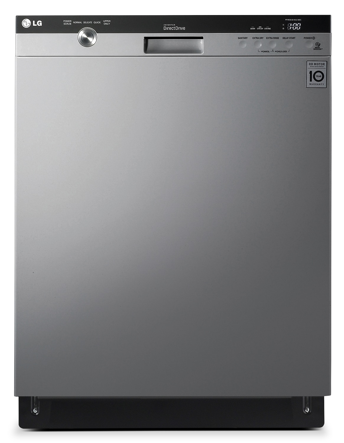 "LG Appliances Stainless Steel 24"" Dishwasher - LDS5540ST"