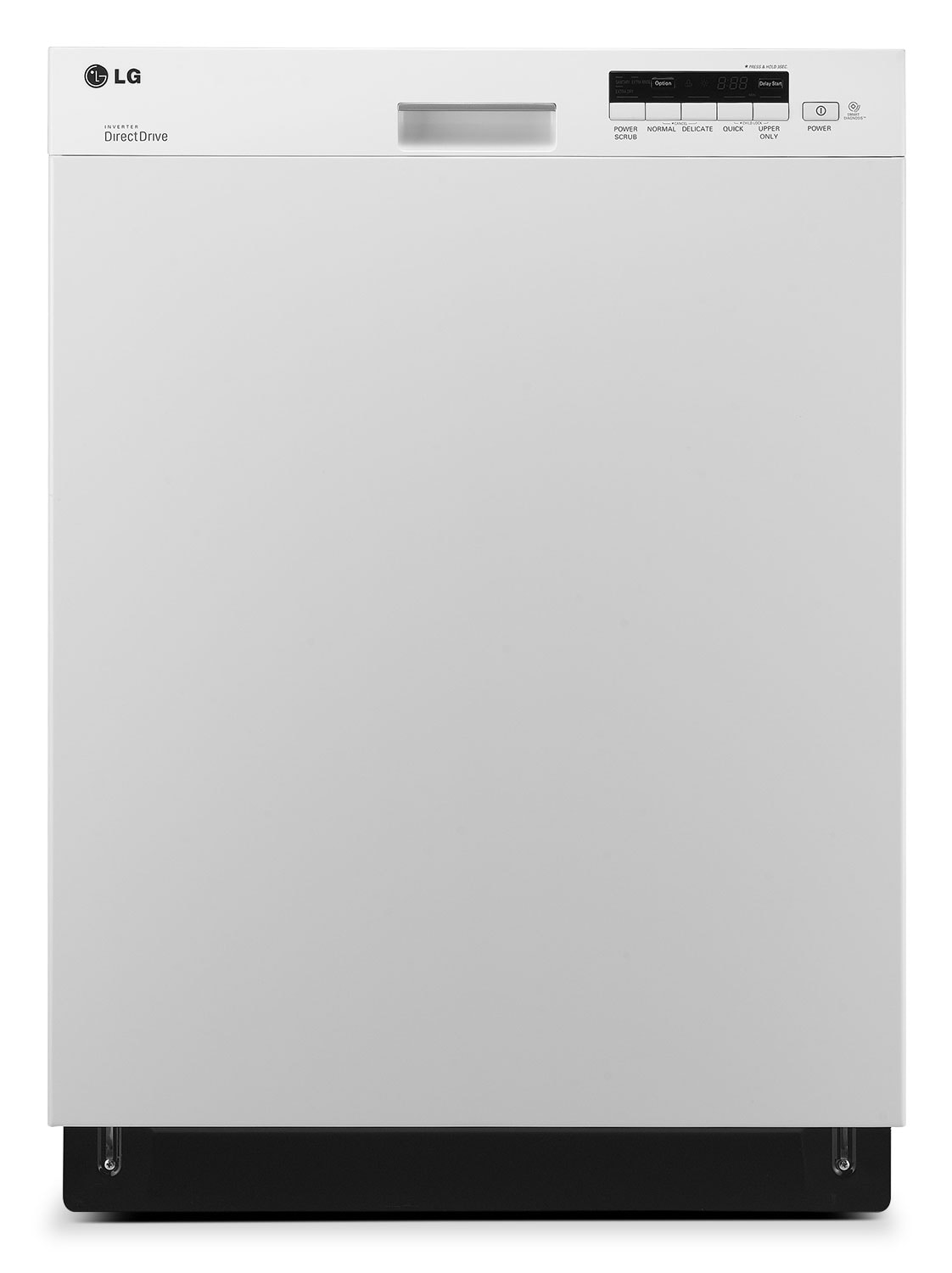"Clean-Up - LG Appliances White 24"" Dishwasher - LDS5040WW"