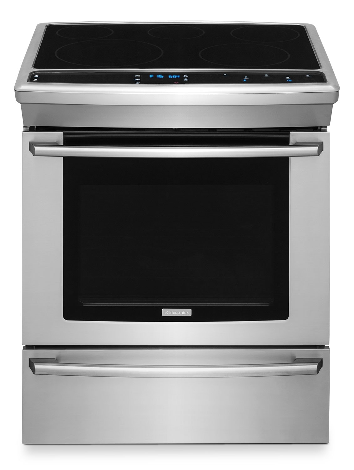 Cooking Products - Electrolux 4.6 Cu. Ft. Electric Slide-In Convection Range – EW30ES8CRS