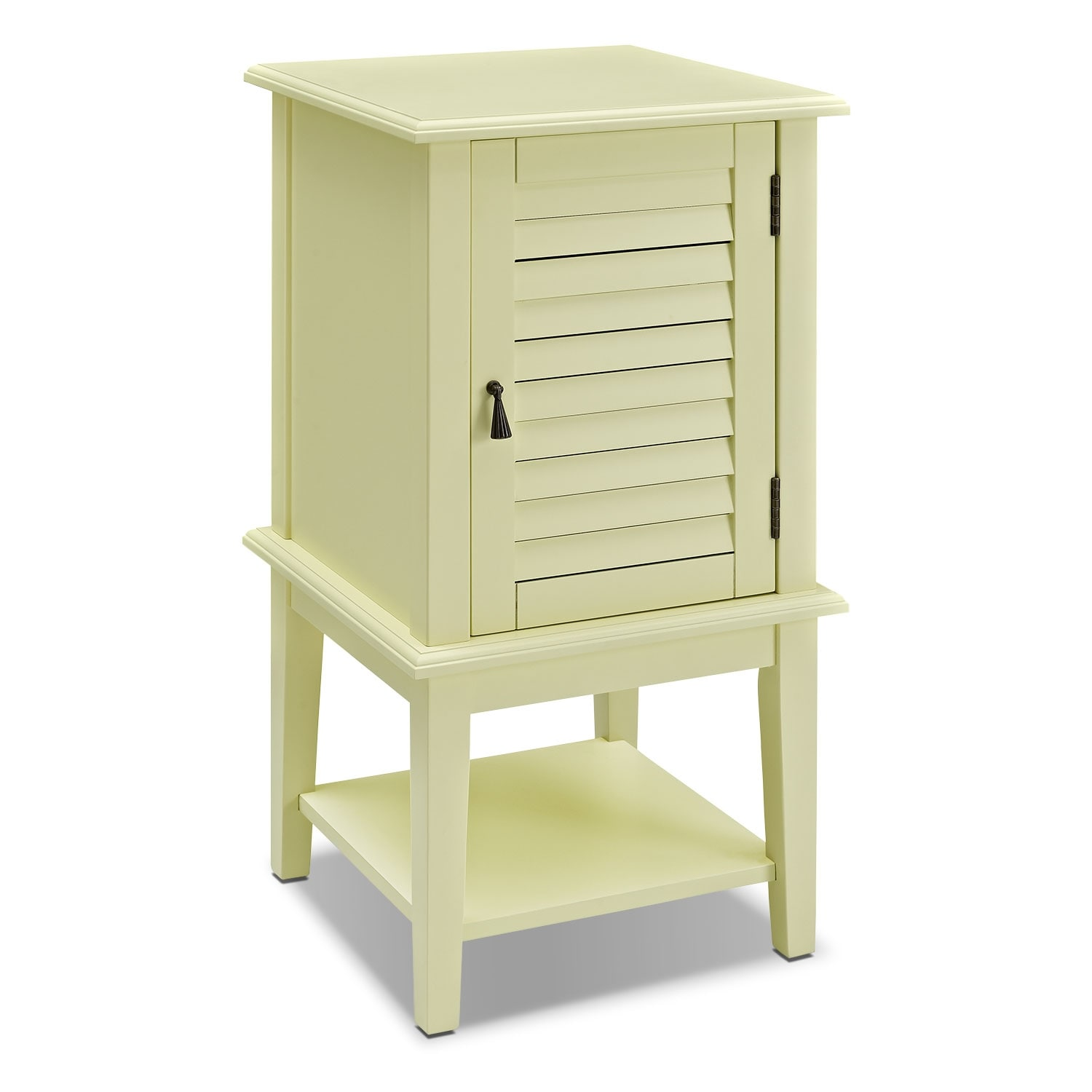 Tulsa Side Table Yellow Value City Furniture