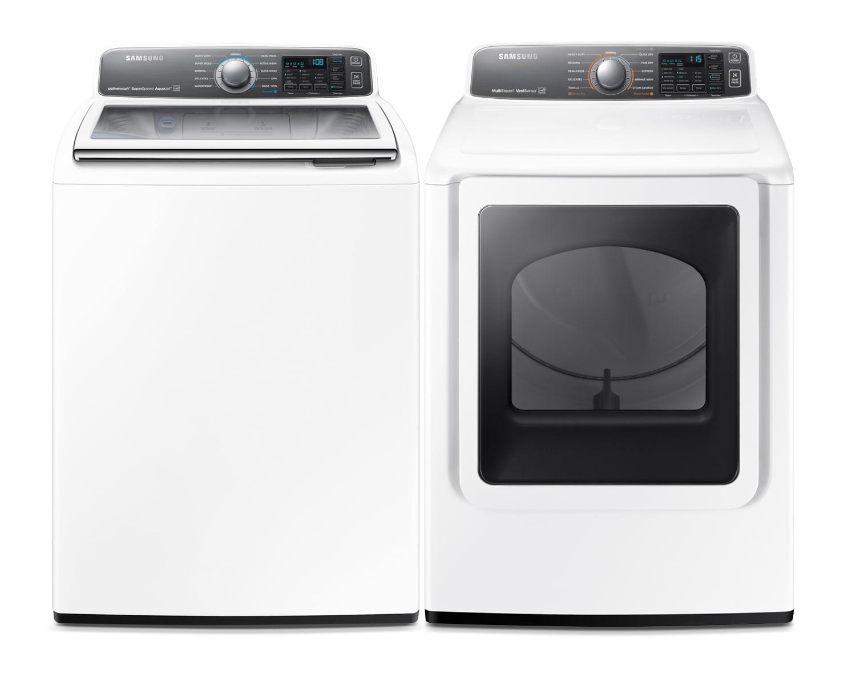 Samsung Laundry - WA48J7770AW/DV48J7770EW