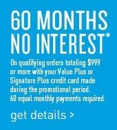 60months financing