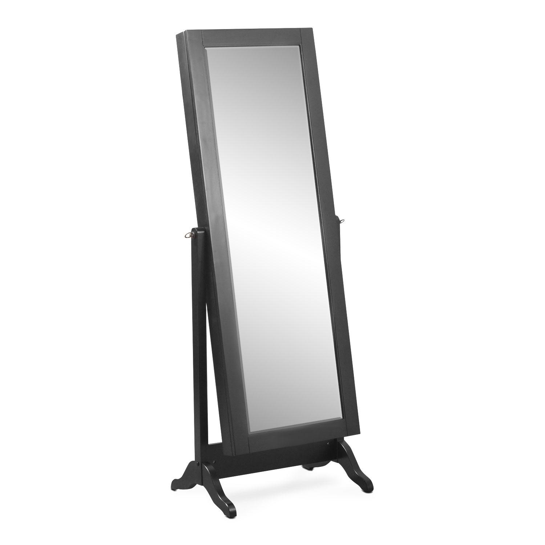 [Loren Cheval Storage Mirror - Black]