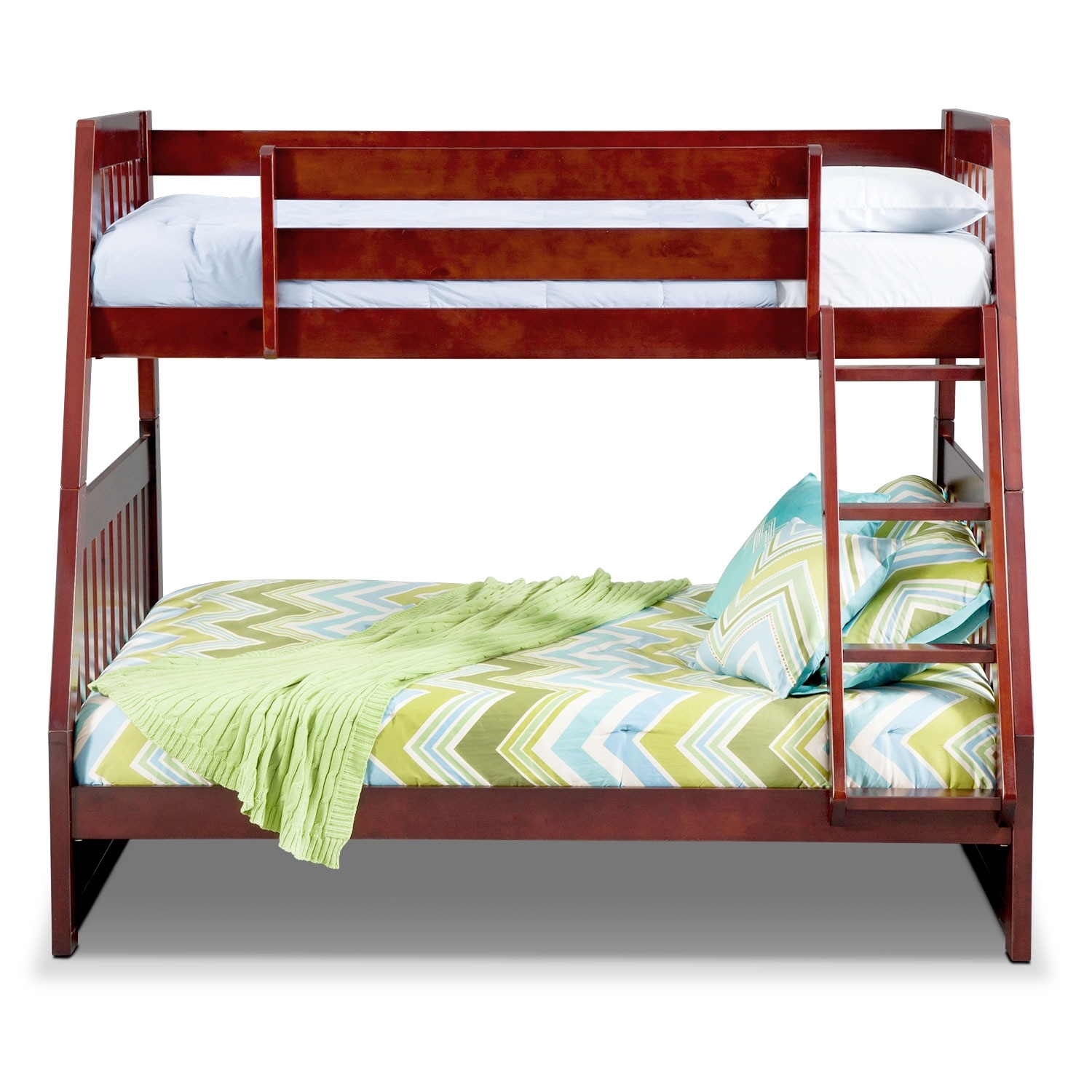 Merlot Bunk Bed - Ranger Storage Bunk Bed Merlot Value ...