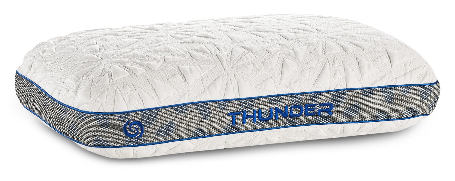 Mattresses and Bedding - Bedgear™ Thunder 1.0 Advanced Position Pillow - Stomach Sleeper