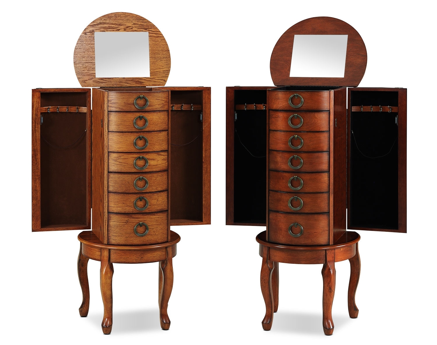 The Niles Jewelry Armoire Collection Value City Furniture
