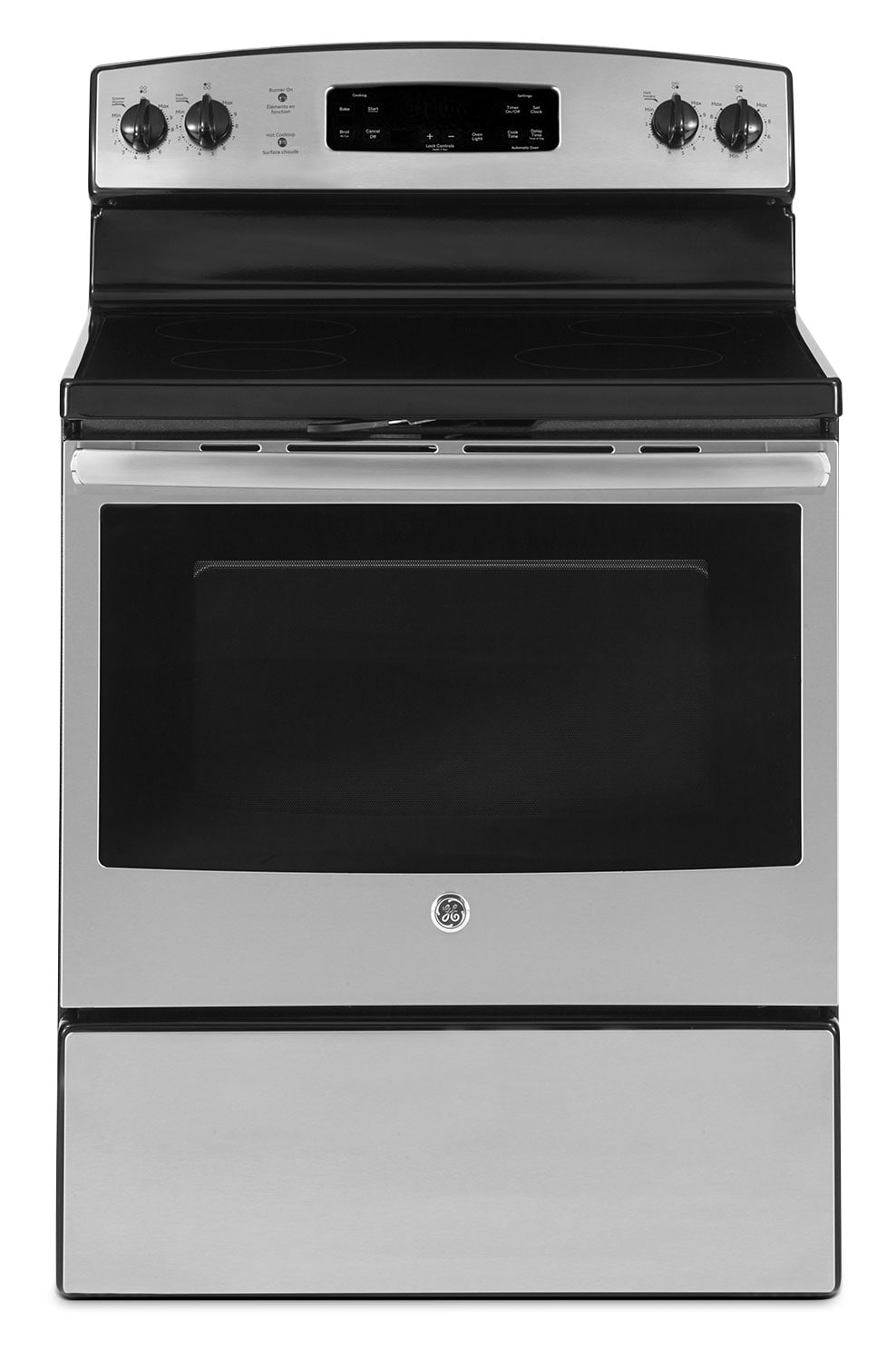 Cooking Products - GE 5.0 Cu. Ft. Freestanding Electric Range – Stainless Steel