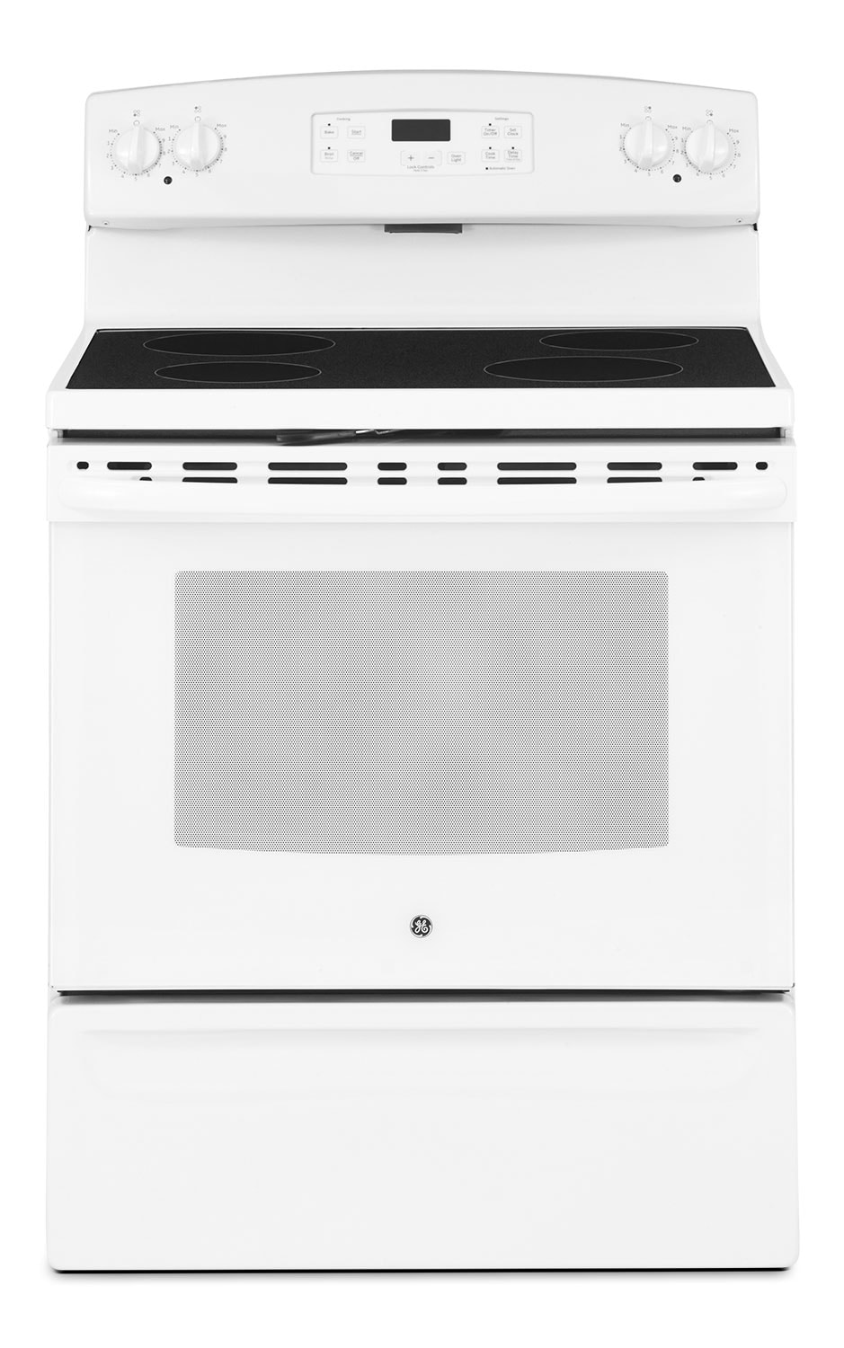 Cooking Products - GE 5.0 Cu. Ft. Freestanding Electric Range – White