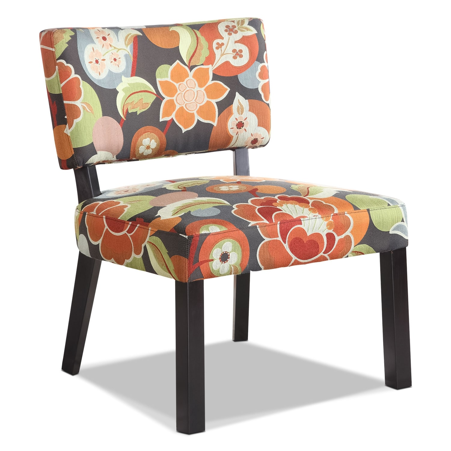 Florence Accent Chair Floral American Signature Furniture