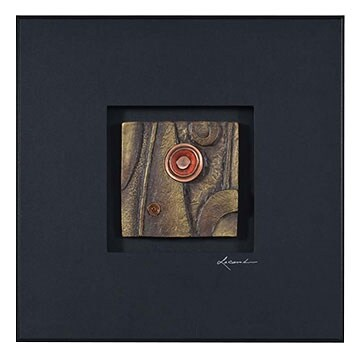 """Accent and Occasional Furniture - Amber Emblem I - 23.5"""" x 23.5"""""""