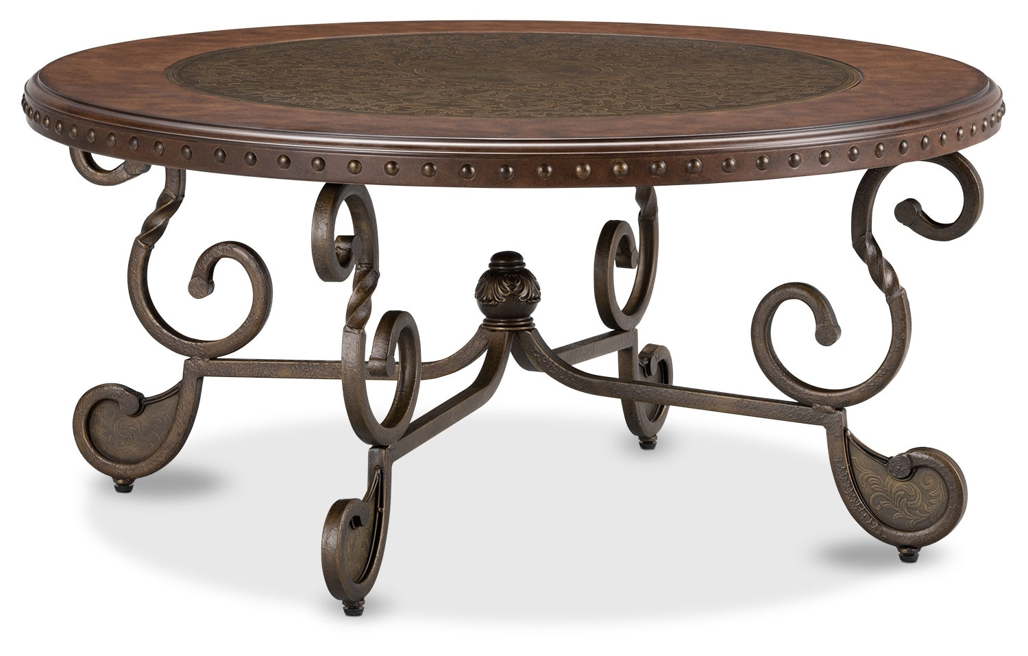 Accent and Occasional Furniture - Cordoba Coffee Table – Dark Brown