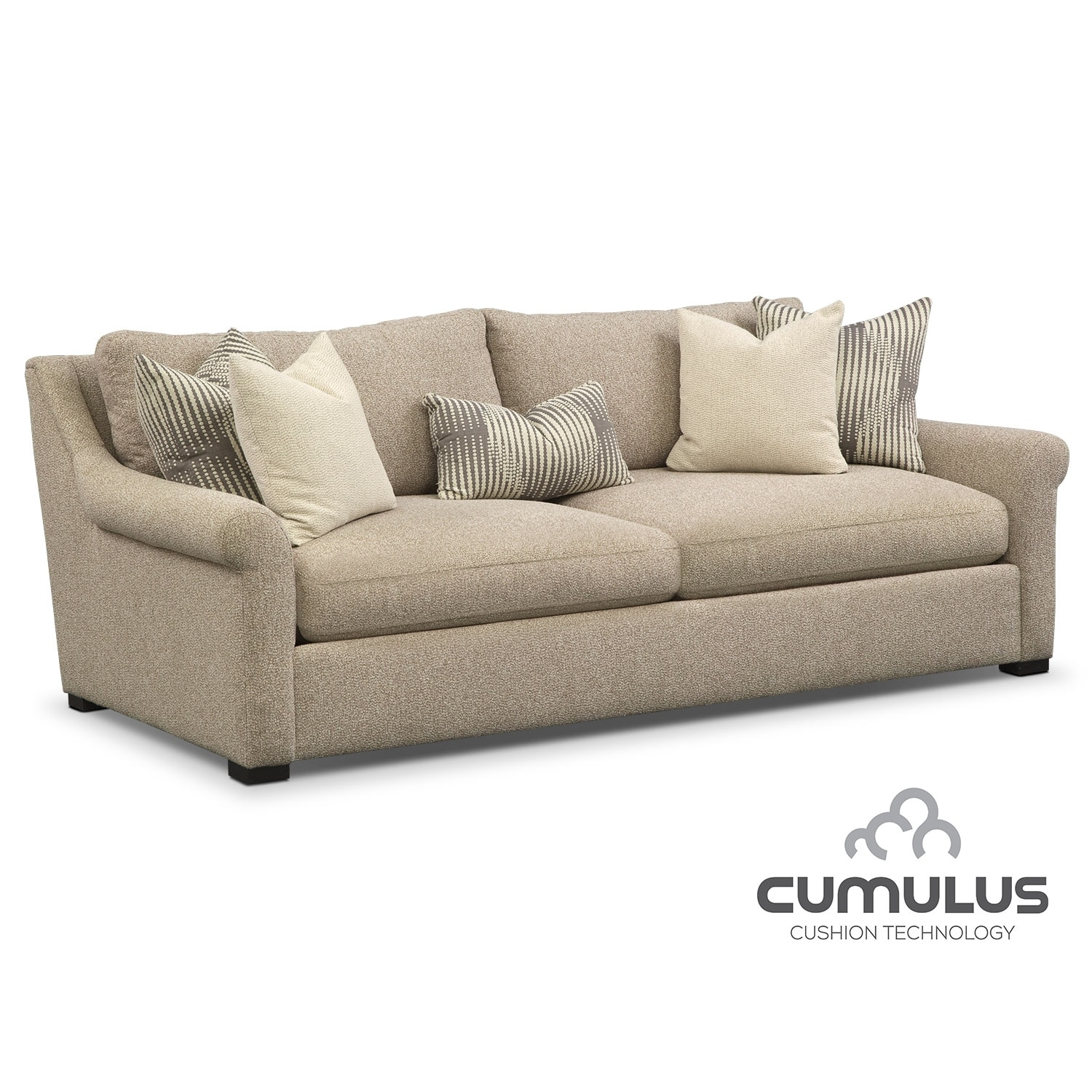 Robertson cumulus sofa value city furniture for American signature couch