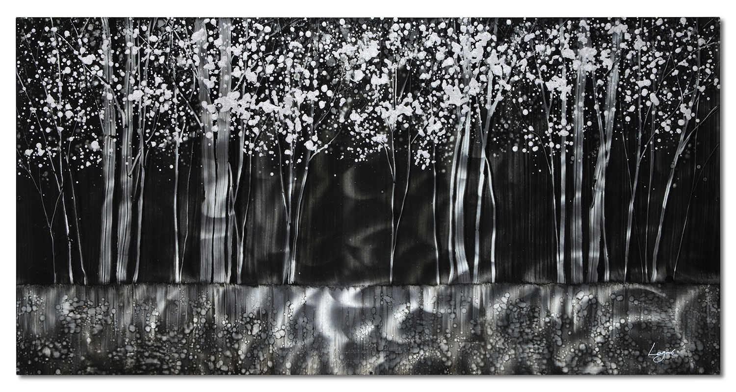 "Thought Forest - 60"" x 30"""