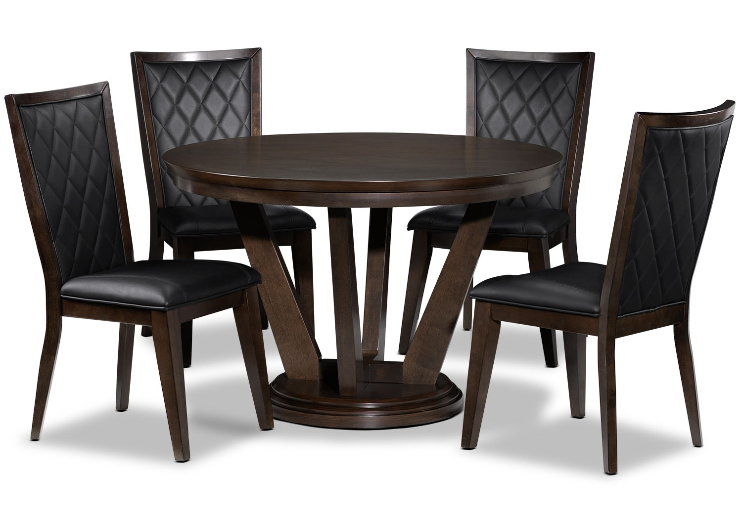 Dining Room Furniture - Atlanta 5 Pc. Dining Package