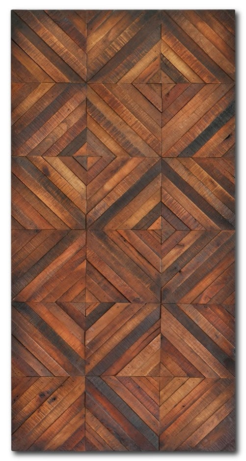 "Chevron Stripes - 24"" x 48"""
