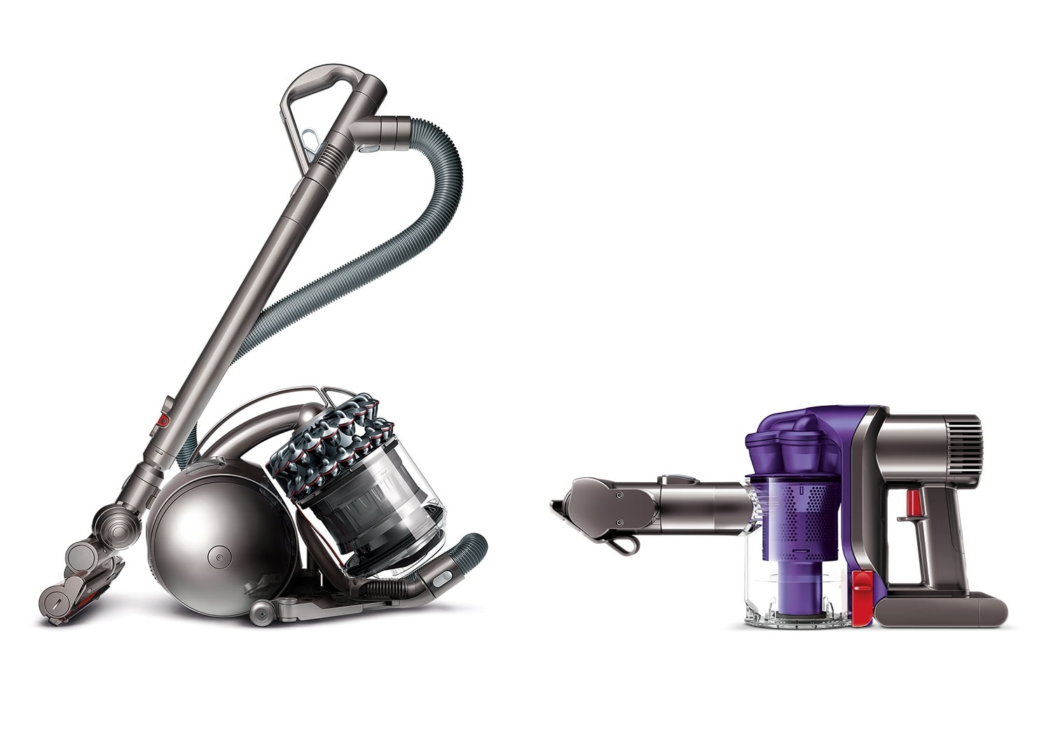 Clean-Up - Dyson DC78TH Animal Canister Vacuum w/FREE Cordless Handheld