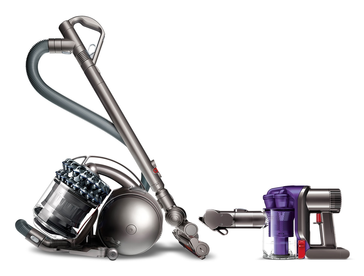 Clean-Up - Dyson DC78TH Vacuum w/ FREE Cordless Handheld
