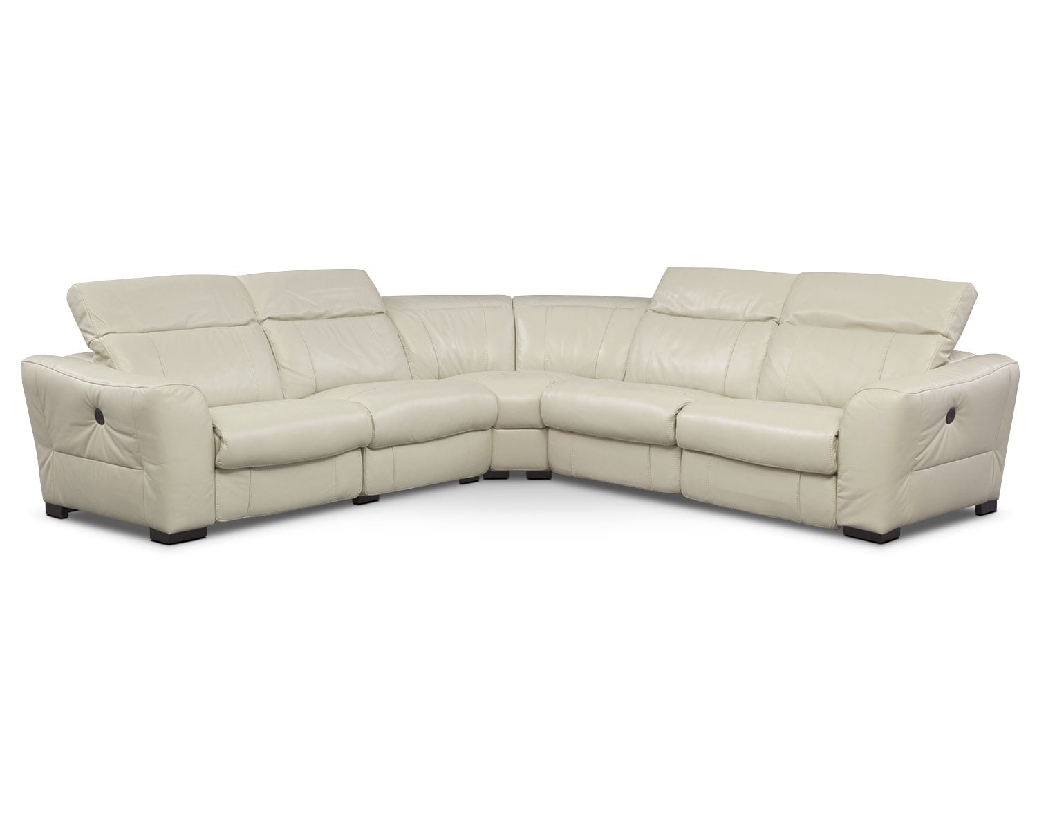[The Palisade Ivory Sectional Collection]