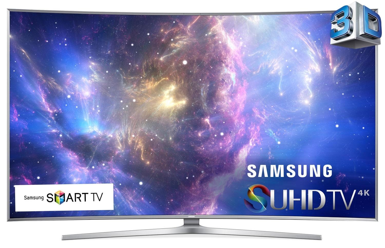 "[Samsung 65"" Curved 4K SUHD Smart 3D LED TV - UN65JS9500FXZC]"