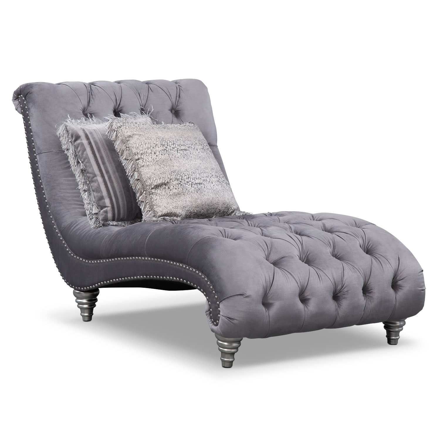 [Brittney Gray Chaise]