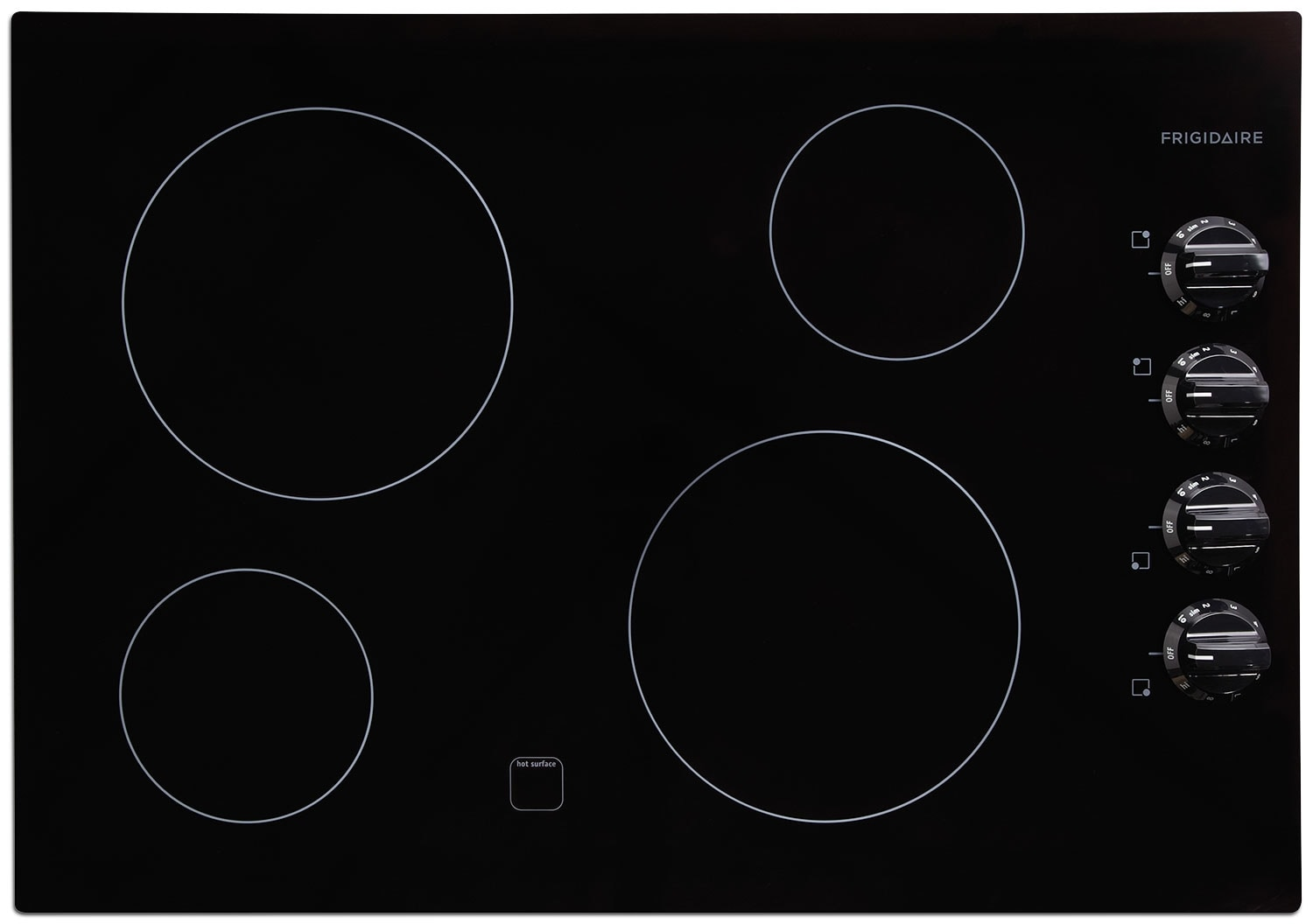"Cooking Products - Frigidaire Gallery 30"" Electric Cooktop – Black"