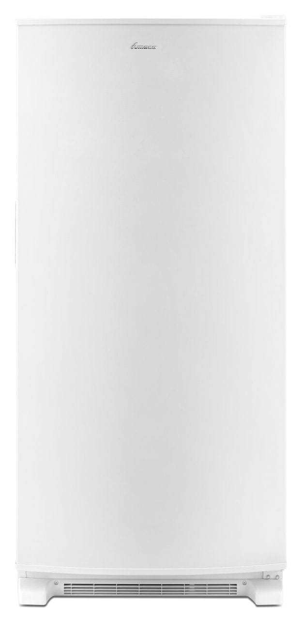 Refrigerators and Freezers - Amana White Upright Freezer (18.0 Cu. Ft.) - AZF33X18DW