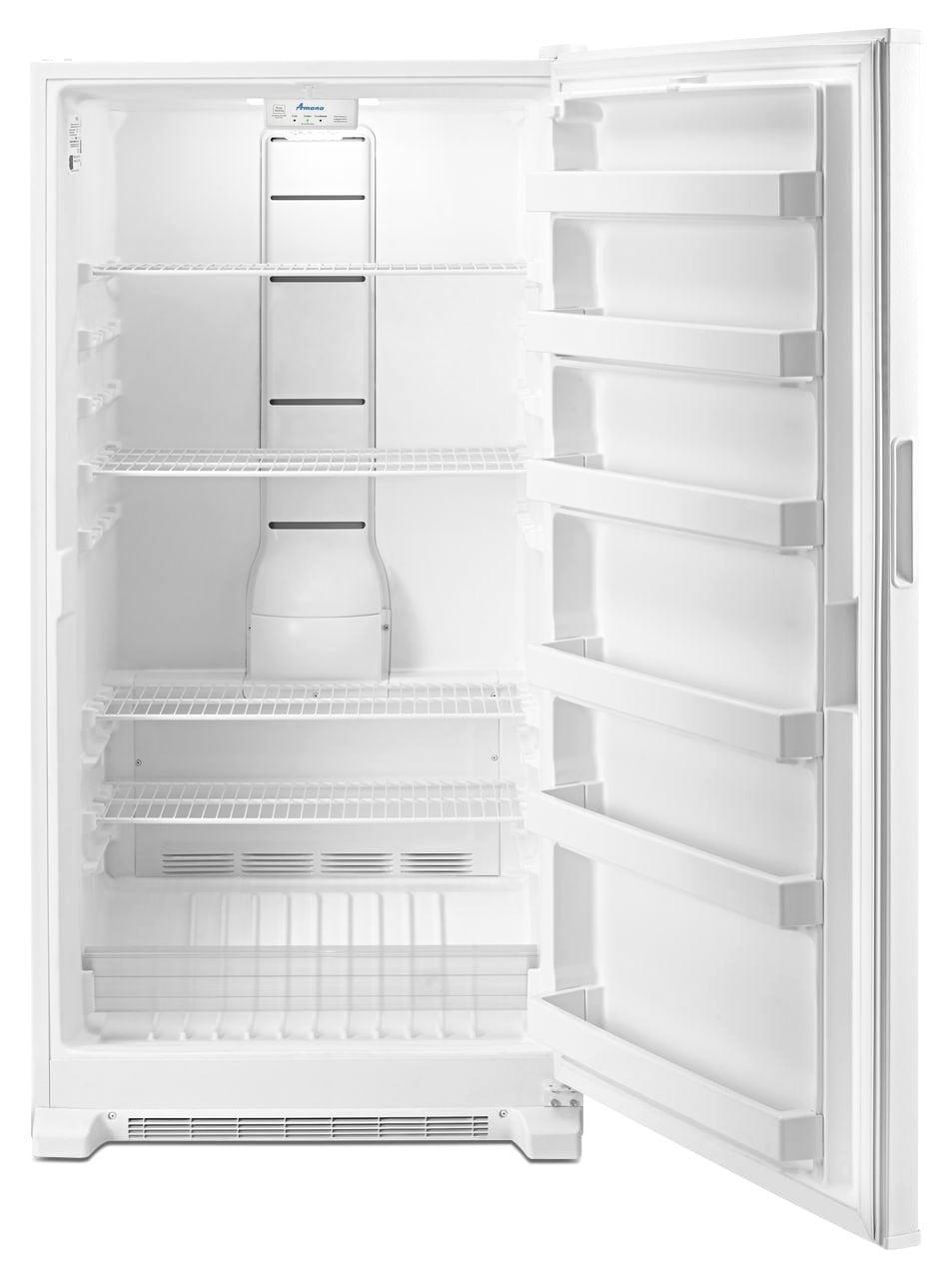 Amana White Upright Freezer 18 0 Cu Ft Azf33x18dw