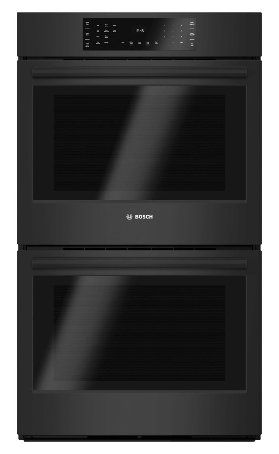 Cooking Products - Bosch Black Double Wall Oven (9.2 Cu. Ft.) - HBL8661UC