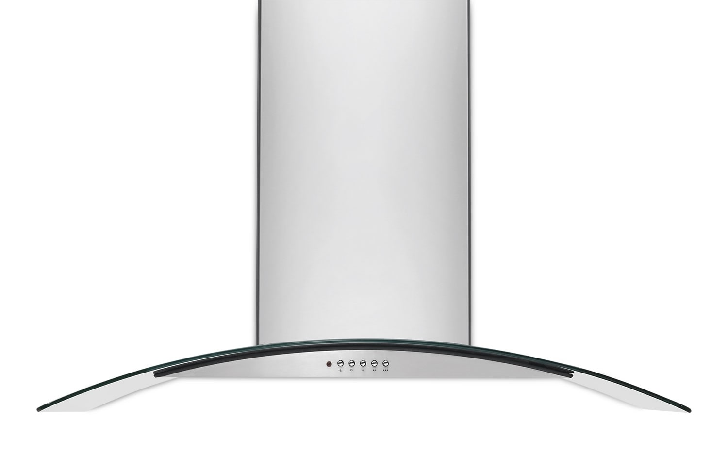Cooking Products - Frigidaire Stainless Steel and Glass Island/Peninsula-Mount Range Hood - FHPC4260LS