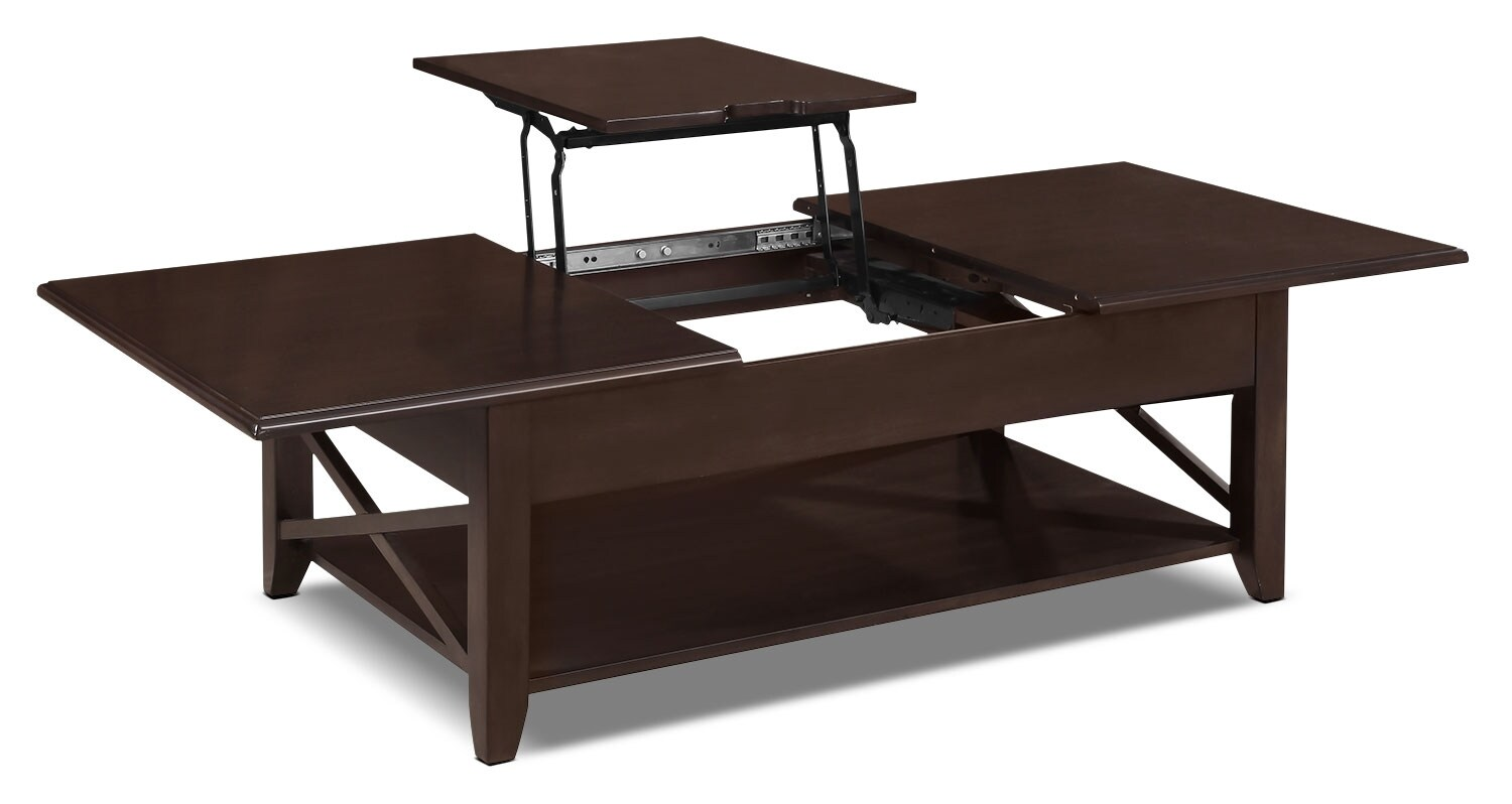 Burlington Coffee Table With Lift Top United Furniture Warehouse