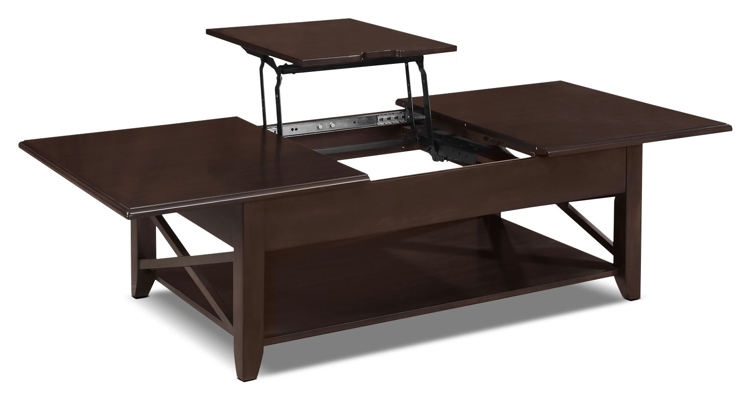 Accent and Occasional Furniture - Burlington Coffee Table with Lift-Top