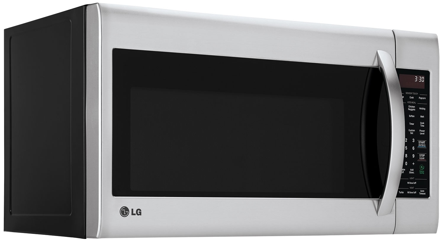 Lg 2 0 Cu Ft Over The Range Microwave With Easyclean