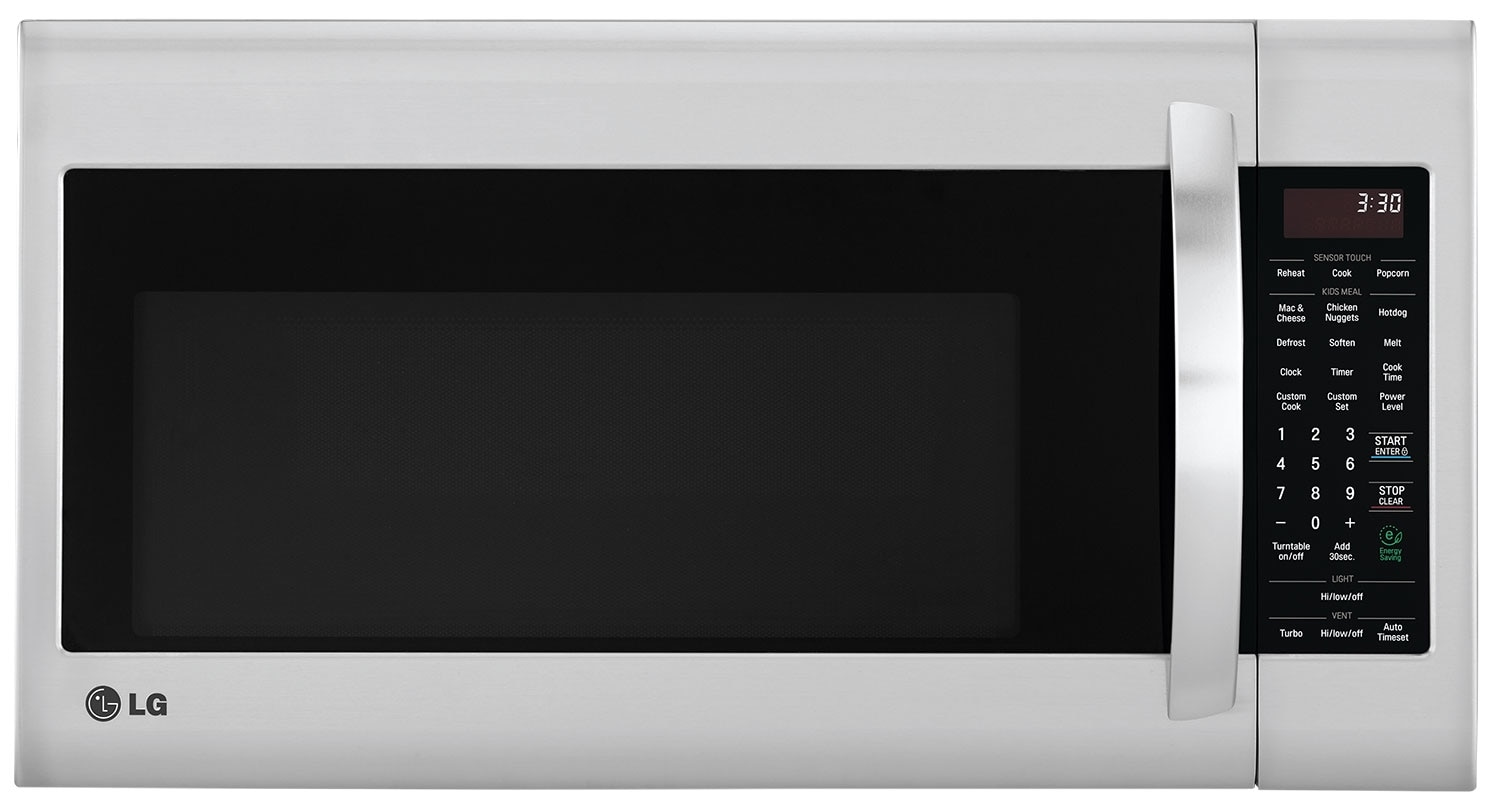 Lg 2 0 Cu Ft Over The Range Microwave With Easyclean Interior Stainless Steel The Brick
