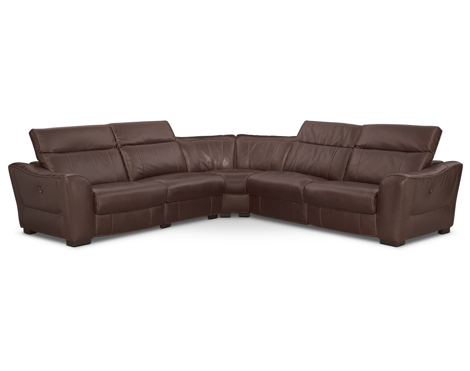 [The Palisade Brown Sectional Collection]
