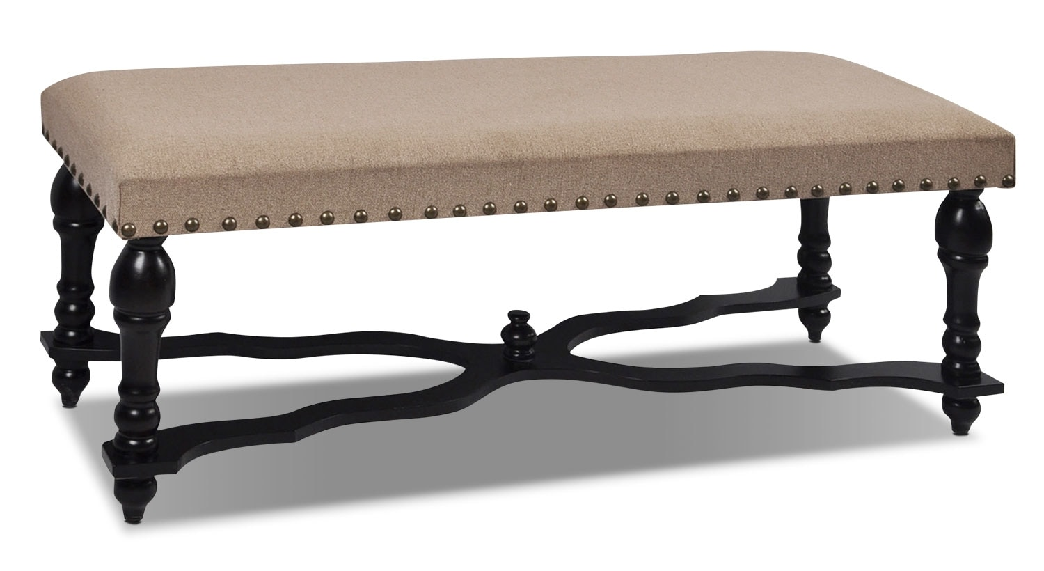 Accent and Occasional Furniture - Wexford Upholstered Bench - Brown