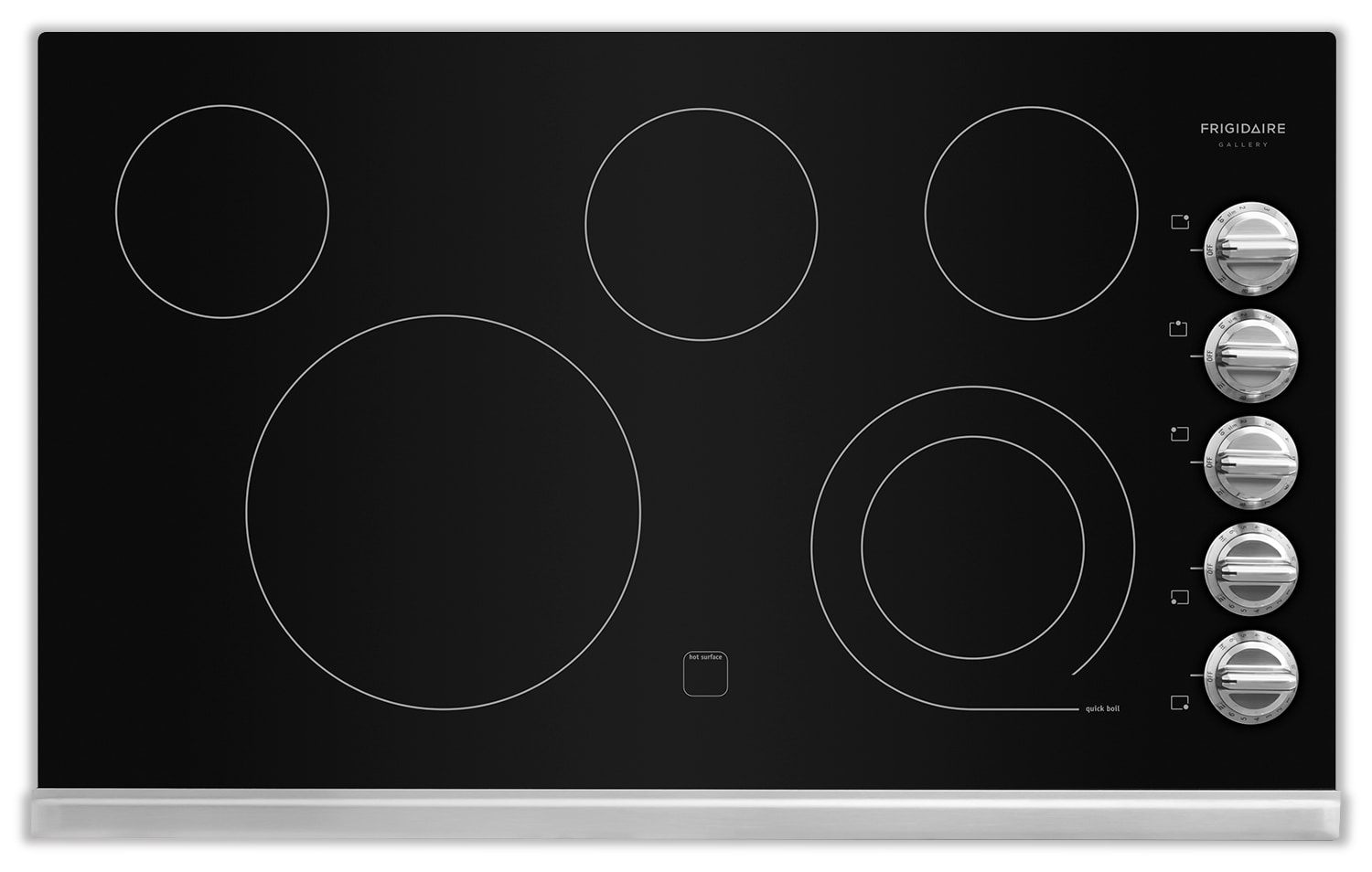 "Cooking Products - Frigidaire Gallery 36"" Electric Cooktop – Black"
