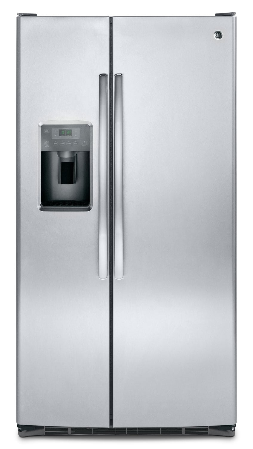 Refrigerators and Freezers - GE 25.4 Cu. Ft. Side-By-Side Refrigerator – GSE25GSHSS