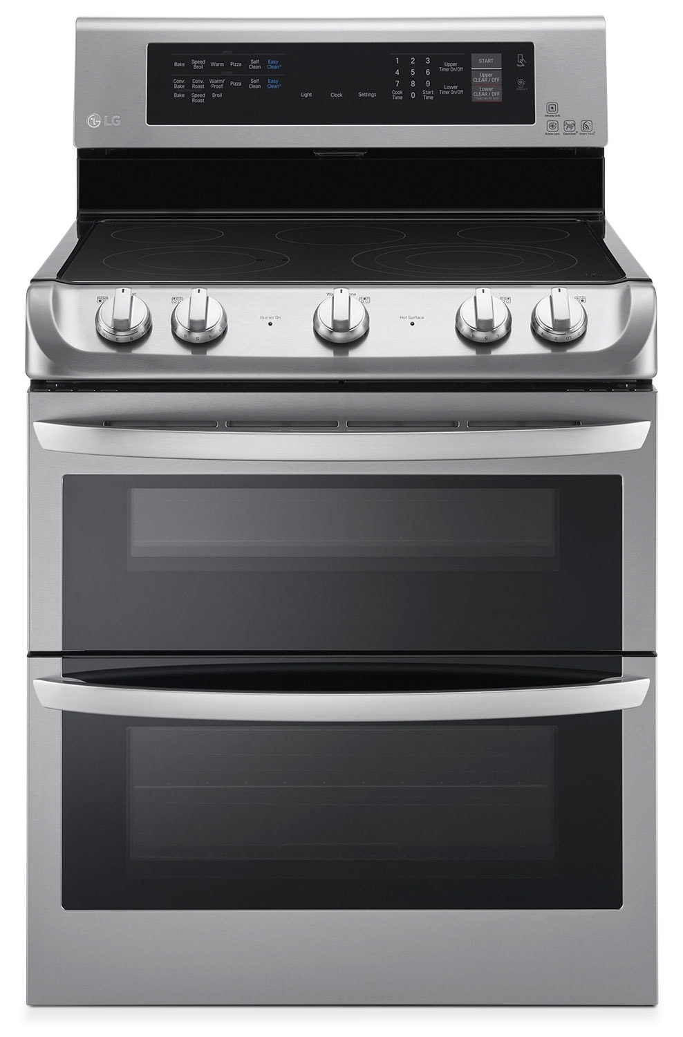 LG 7.3 Cu. Ft. Electric Range with Double Oven – Stainless Steel